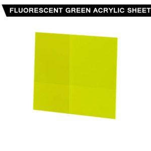 Fluorescent Green Acrylic Sheet