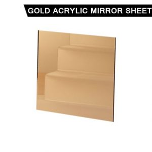 Gold Acrylic Mirror Sheet