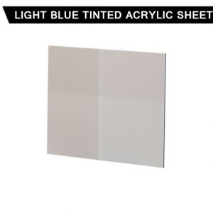 Light Blue Tinted Acrylic Sheet