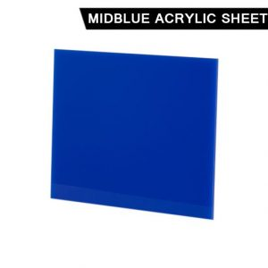 Mid Blue Acrylic Sheet