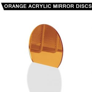 Orange Acrylic Mirror Disc
