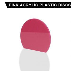 Pink Acrylic Disc
