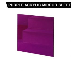 Purple Acrylic Mirror Sheet