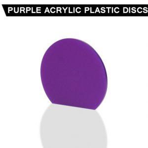 Purple Acrylic Disc