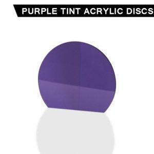 Purple Tint Acrylic Disc