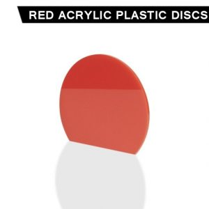 Red Acrylic Disc