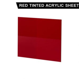 Red Tinted Acrylic Sheet