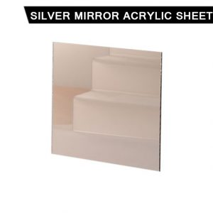 Silver Mirror Acrylic Sheet