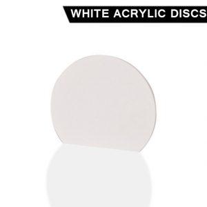 White Acrylic Disc