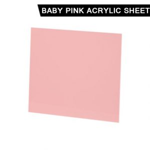 Baby Pink Acrylic Sheet