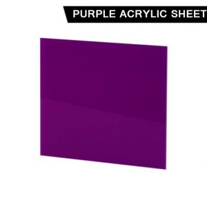 Purple Acrylic Sheet