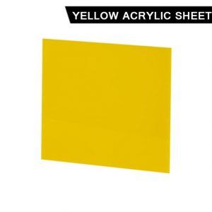 Yellow Acrylic Sheet